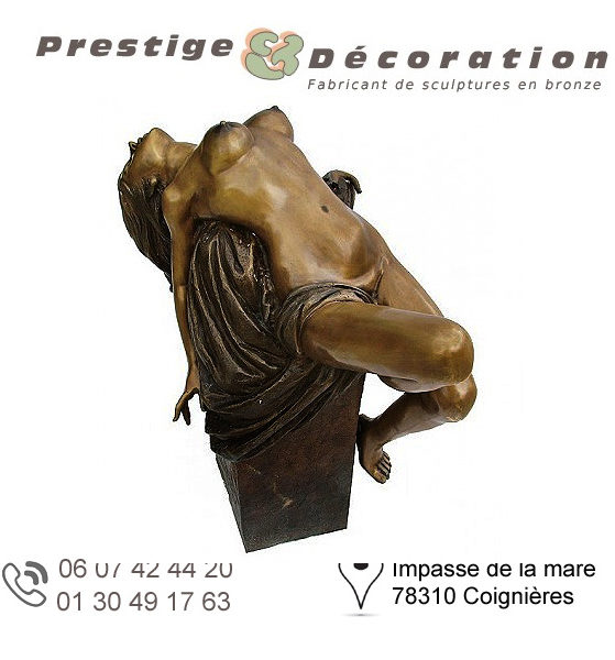 sculptures statuettes bronze femmes