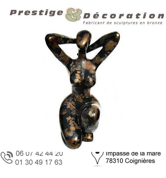 sculptures statuettes bronze femmes nues